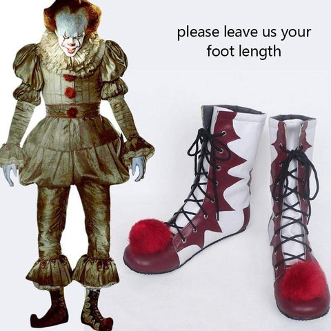 Stephen King'S It Costume Joker Cosplay Pennywise Shoes Game Boots For Halloween Carnival Party - SpiritCos