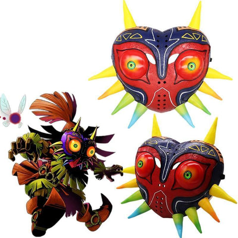The Legend Of Zelda Majora'S Mask Helemt Costume Props Cosplay - SpiritCos