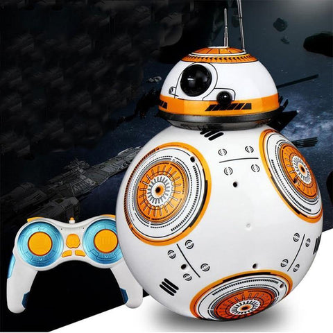 Star Wars Sound Dancing Electric Rc Robots Bb8 Small Ball 2.4G Remote Control Action Figure Kid Toys Intelligent Model Gifts - SpiritCos