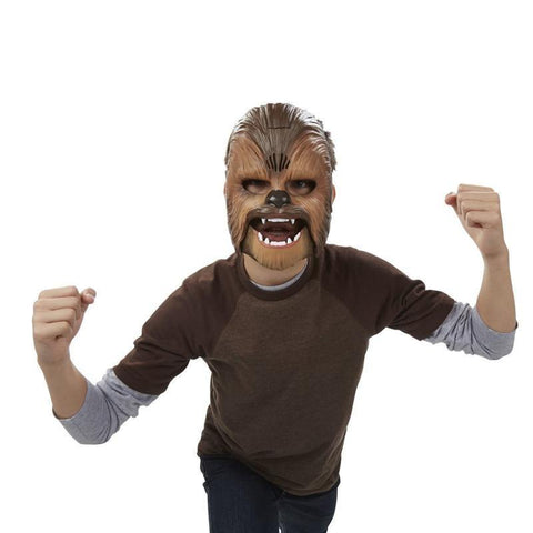 Star Wars The Force Awakens Chewbacca Mask Electronic Luminous Party & Halloween Mask Toys With Voice - SpiritCos