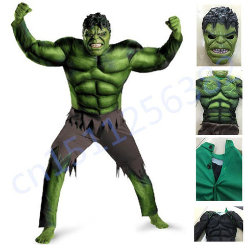 The Avengers Hulk Costume For Boys Cosplay Halloween Costume For Kids - SpiritCos