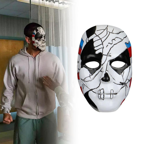The Punisher 2 Billy Russo Halloween Cosplay Mask - SpiritCos