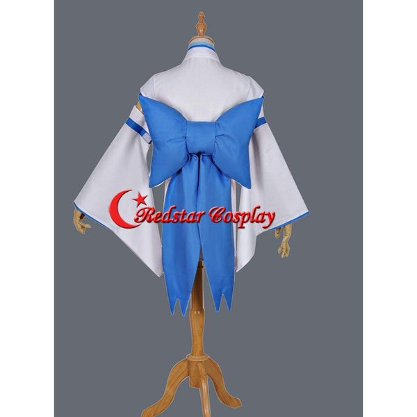 Re:Life In A Different World From Zero Ram Rem Childhood Kimono Cosplay Costume - SpiritCos