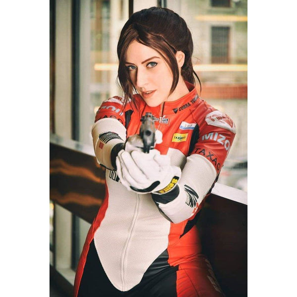 Resident Evil 2 Remake Re Claire Redfield Elza Walker Dlc Outfit Cosplay Costume - SpiritCos