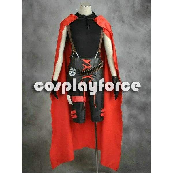 Rwby Red Trailer Ruby Rose Cosplay Costume Man Version - SpiritCos