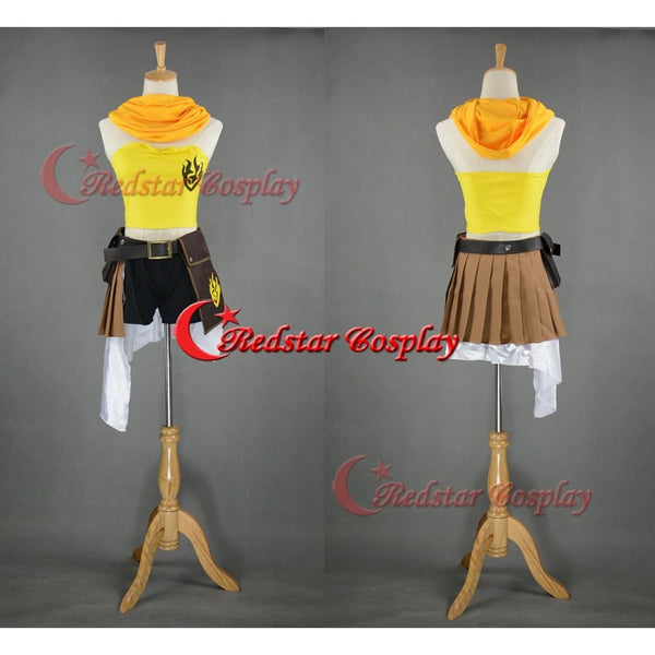 Rwby Yellow Trailer Yang Xiao Long Cosplay Costume - Custom Made In Any Size - SpiritCos