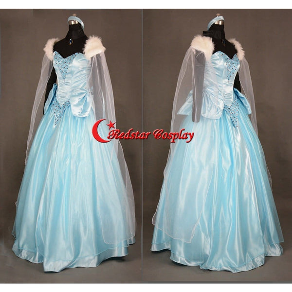 Sandy Princess Cinderella Princess Dress Cosplay Costume - Custom-Made In Sizes - SpiritCos