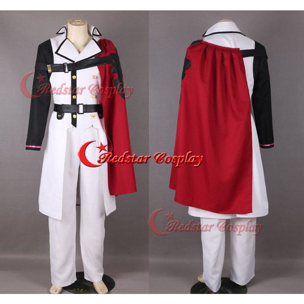 Seraph Of The Crowley Eusford Vampires Uniform Anime Cosplay Costume - SpiritCos