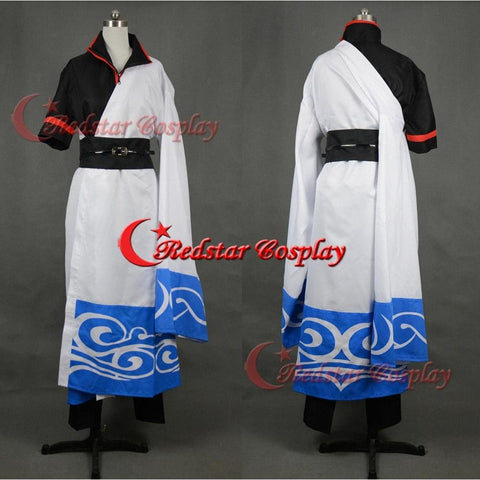 Silver Soul Gintama Sakata Gintoki Cosplay Costume - Custom-Made In Sizes - SpiritCos