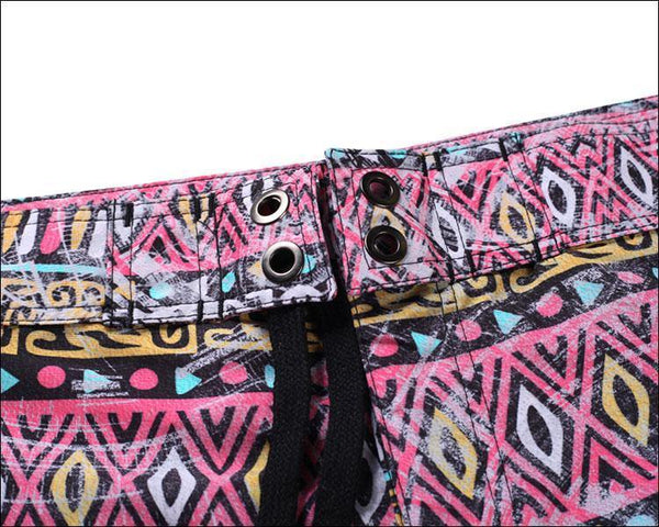 Men'S Beach Board Shorts Mandala Pattern Swimming Pants - SpiritCos