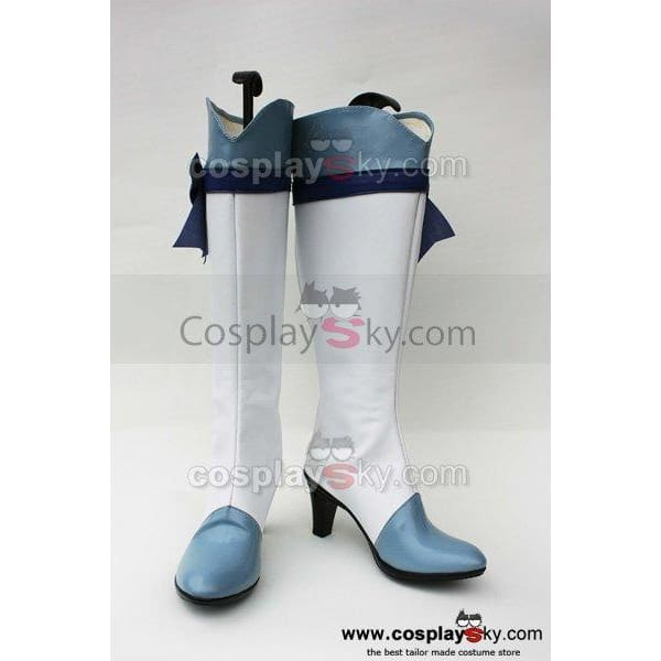 Smile Precure! Pretty Cure Reika Aoki Cure Beauty Cosplay Shoes Boots - SpiritCos
