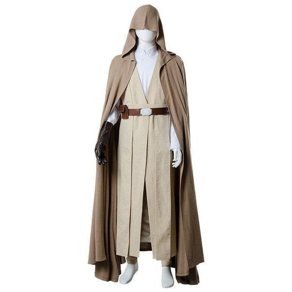 Star Wars 8 The Last Jedi Luke Skywalker Outfit Cosplay Costume Ver.2 - SpiritCos