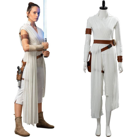 Star Wars 9 The Rise Of Skywalker Rey Cosplay Costume - SpiritCos