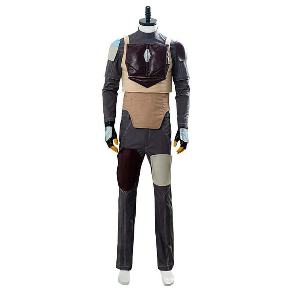 Star Wars The Mandalorian Outfit Cosplay Costume - SpiritCos