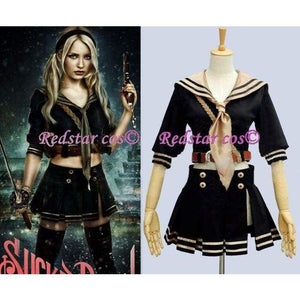 Sucker Punch Babydoll Emily Cosplay Costume - Custom made in Any size - SpiritCos