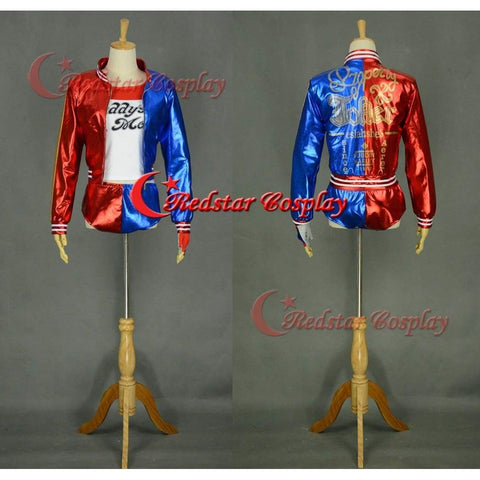 Suicide Squad Harley Quinn Cosplay Costume Cosplay Custom Suicide Squad Cosplay Made - SpiritCos