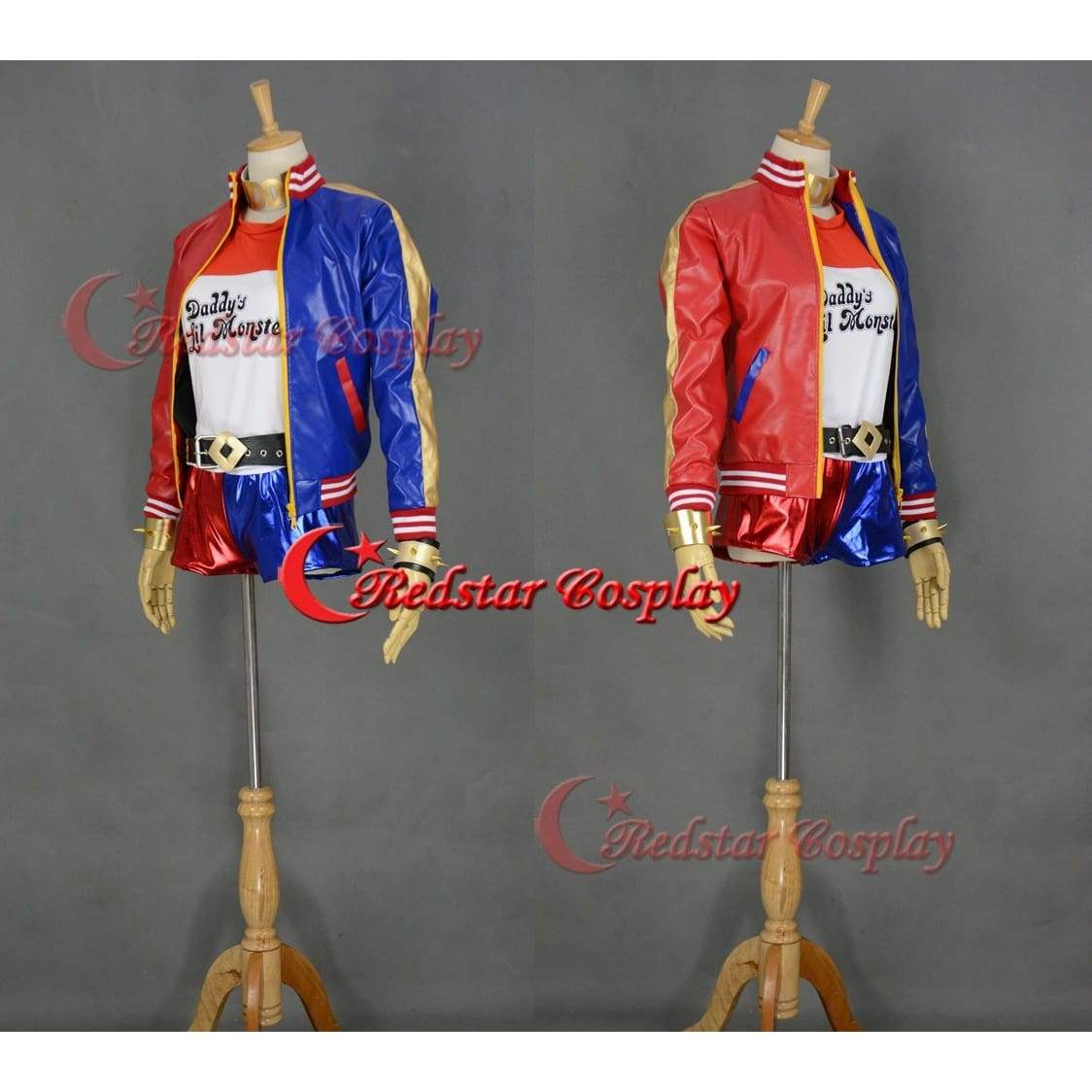 Suicide Squad Harley Quinn Cosplay Costume (Type 2) - SpiritCos