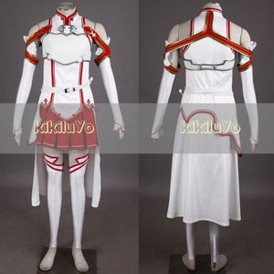 Sword Art Online Costume Asuna Yuuki Cosplay Costume Halloween Costume - SpiritCos
