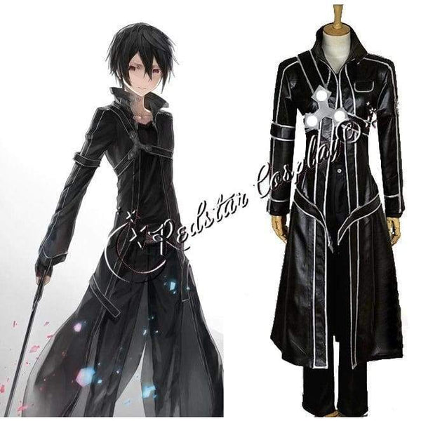Sword Art Online Kazuto Kirigaya Cosplay Costume - Custom made in Any size - SpiritCos