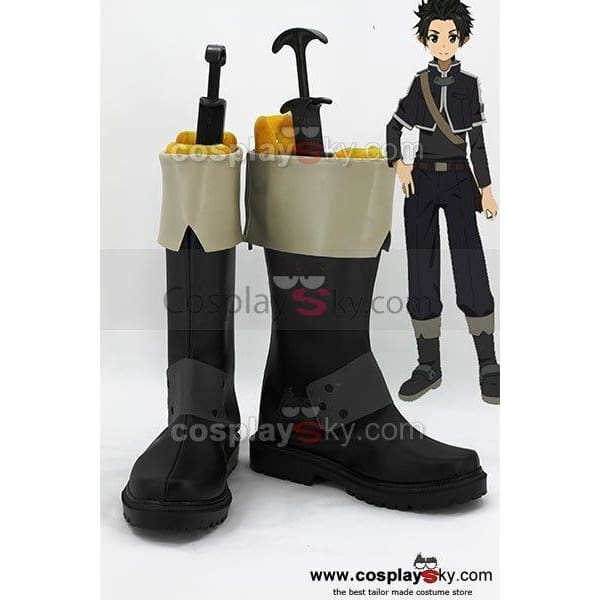 Sword Art Online Kirito Kazuto Kirigaya Cosplay Boots Shoes Custom Made - SpiritCos