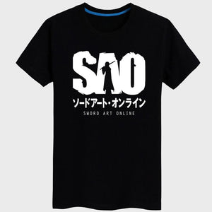 Sword Art Online Sao Black T-Shirt Cosplay Costume - SpiritCos