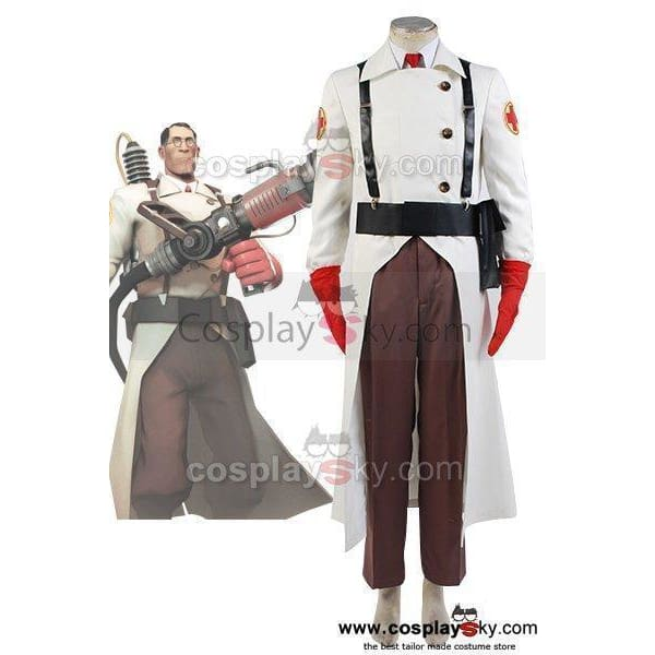 Team Fortress 2 Medic Cosplay Costume - SpiritCos