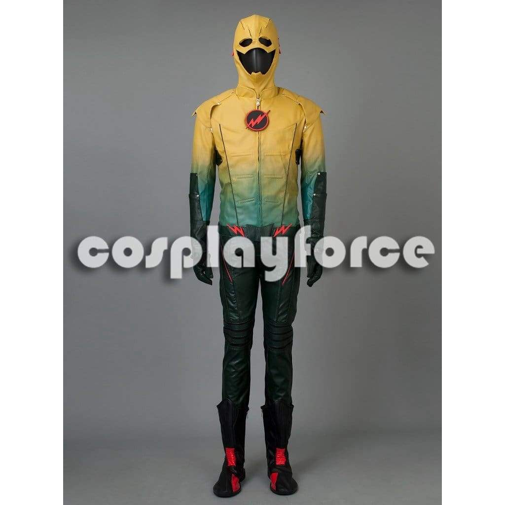 The Flash Dr.Harrison Wells Reverse-Flash Cosplay Costume Mp002569 - SpiritCos