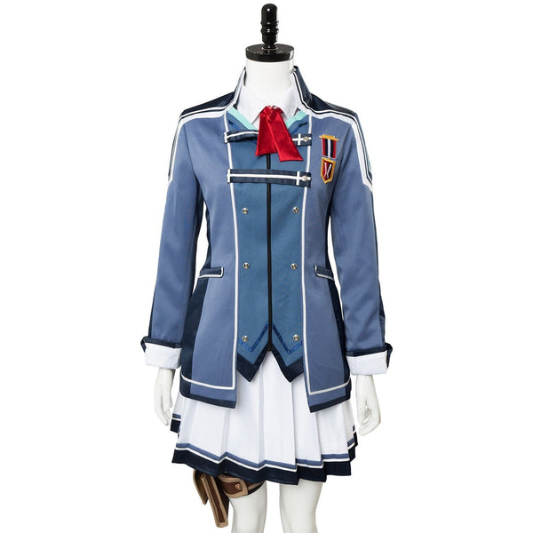The Legend Of Heroes: Trails Of Cold Steel Una Crawford Outfit Uniform Dress Cosplay Costume - SpiritCos