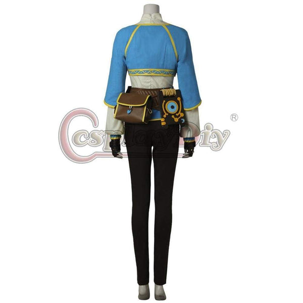 The Legend of Zelda: Breath of the Wild Leading Lady Cosplay Costume For Halloween Custom Made - SpiritCos