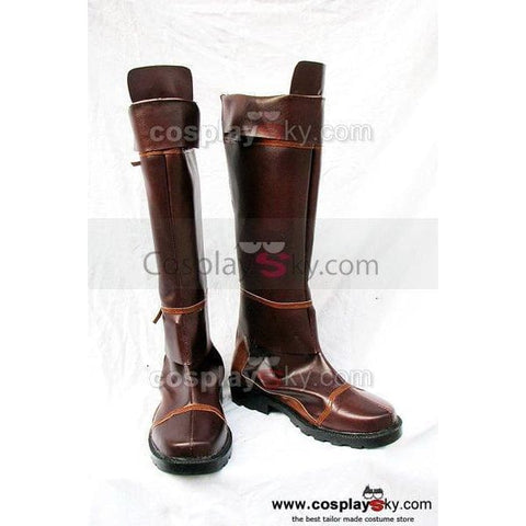 The Legend Of Zelda Cosplay Boots Shoes Brown - SpiritCos