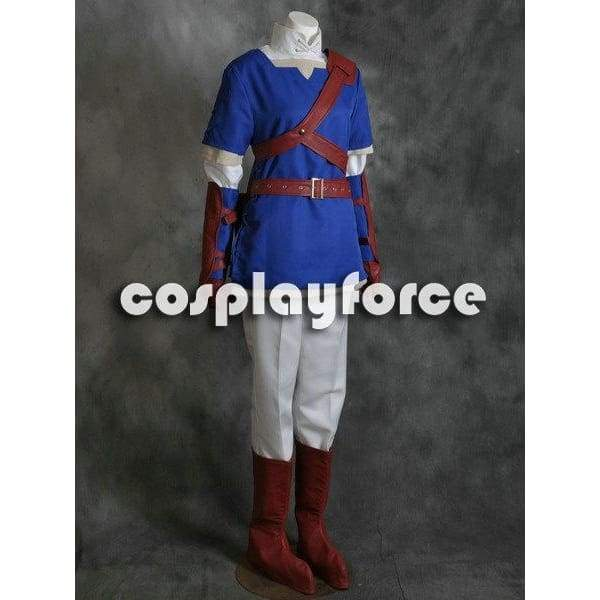The Legend of Zelda Link Blue Cosplay Costume - SpiritCos