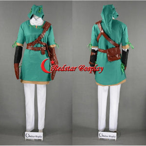 The Legend Of Zelda Link Cosplay Costume (Ver.4) - Custom Made In Any Size - SpiritCos