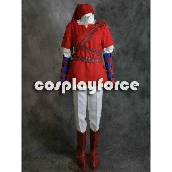 The Legend Of Zelda Link Red Cosplay Costume - SpiritCos
