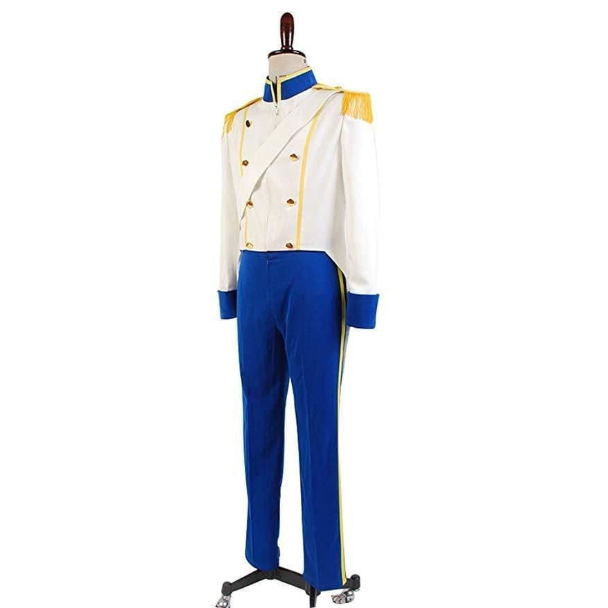 The Little Mermaid  Prince Eric Uniform Cosplay Costume - SpiritCos