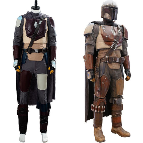 The Mandalorian Star Wars Outfit Cosplay Costume - SpiritCos