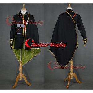 The Sword Dance Touken Ranbu Hotarumaru Cosplay Costume Uniform - Custom-Made In Any Size - SpiritCos