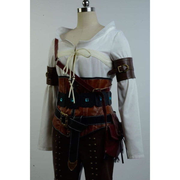 The Witcher 3 Wild Hunt Cirilla Fiona Elen Ciri Cosplay Costumes - SpiritCos