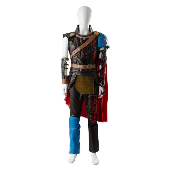 Thor 3 Ragnarok Thor Odinson Outfit Whole Set Cosplay Costume - SpiritCos
