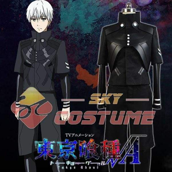 Tokyo Ghoul Kaneki Ken Cosplay Costume Jumpsuit Battle Uniform Anime Cosplay Costume Pants Jackets Coat - SpiritCos