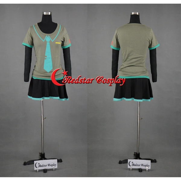 Vocaloid Hatsune Miku Cosplay Sexy Girl'S T-Shirt Or Skirt Cosplay Costume - SpiritCos