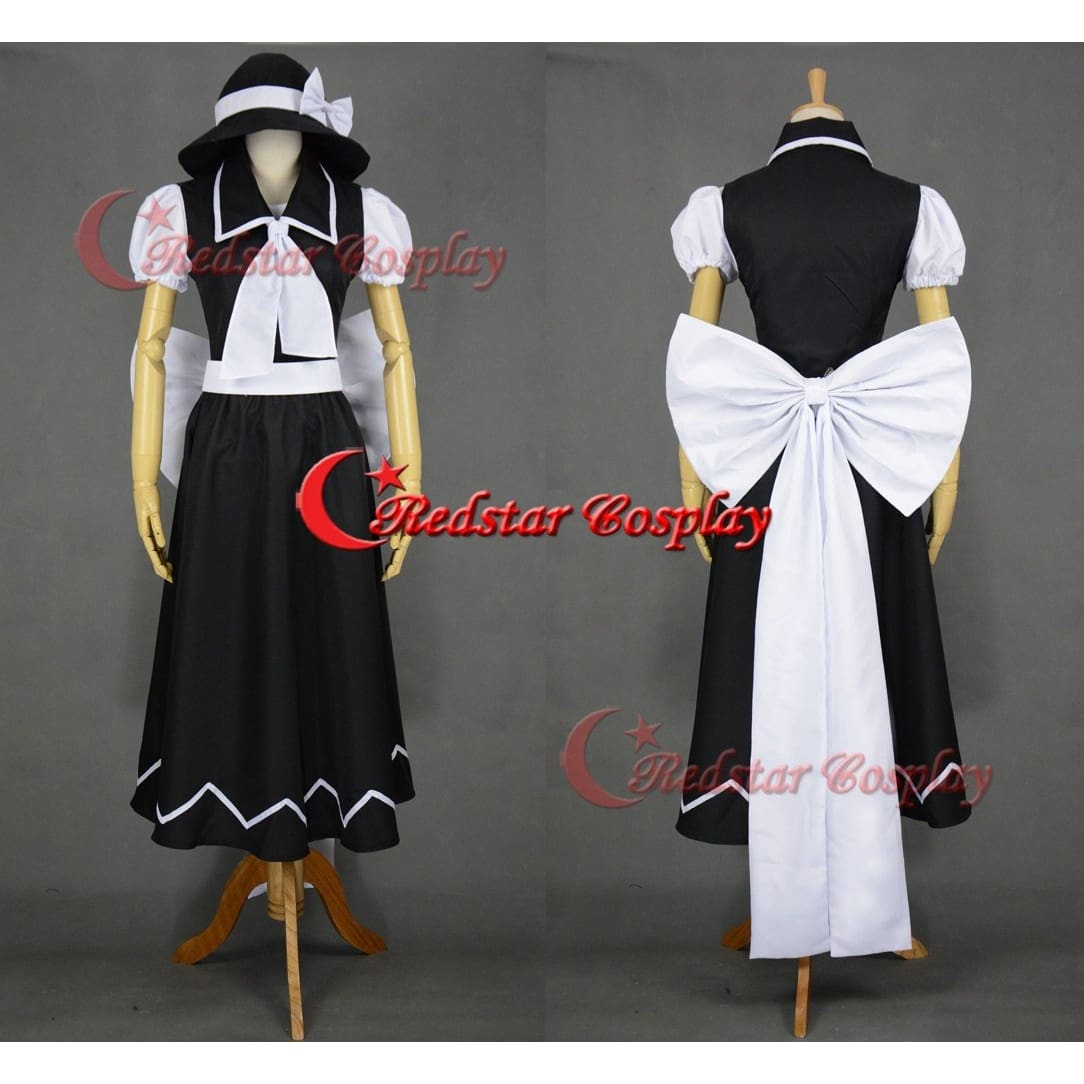 Yuki Cosplay Costume (Black) From Touhou Project Cosplay - SpiritCos