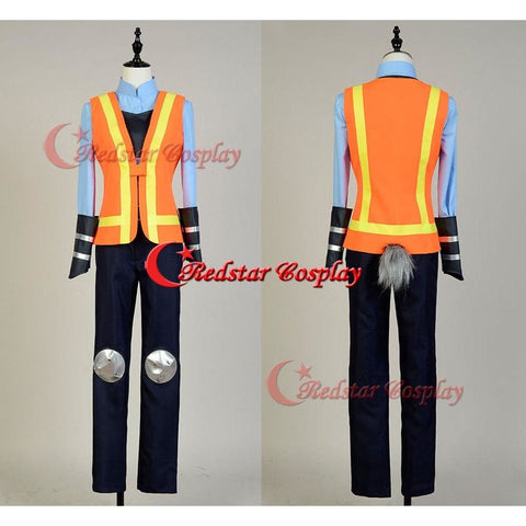 Zootopia Cosplay Judy Traffic Police Officer Judy Hopps Cosplay Costume Uniform Outfit - SpiritCos