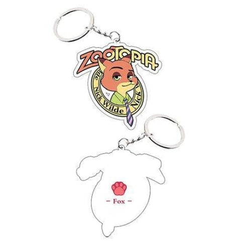 Zootopia Fox Nick Keychain Cosplay Accessories - SpiritCos