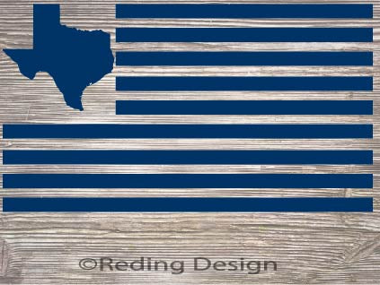 Texas American Flag SVG DXF PNG Digital Cut Files