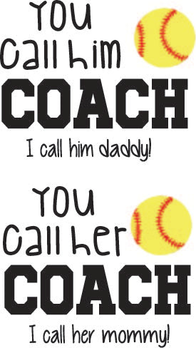You call him Coach I call him Daddy You call her Coach I call her Mommy Digital Cut Files SVG PNG DXF
