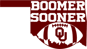 Boomer Sooner Oklahoma SVG DXF PNG Digital Cut Files