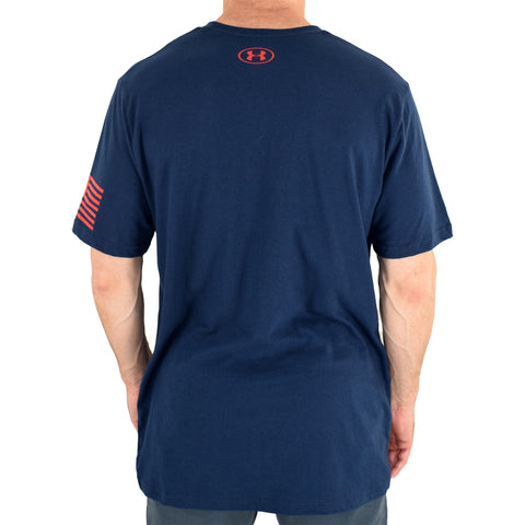 Under Armour Freedom Tonal Navy T-Shirt