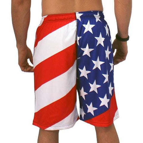 USA American Flag Shorts - 4th of july shirts