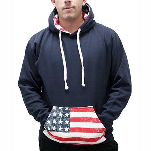 American Flag Hoodie - 4th of july shirts
