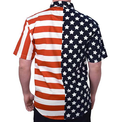 American Flag Stars and Stripes Top - 4th of july shirts
